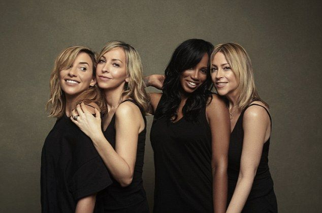 Reunited: (From left) Melanie Blatt, Natalie Appleton, Shaznay Lewis and Nicole Appleton have reunited as All Saints for comeback single and album in 2016