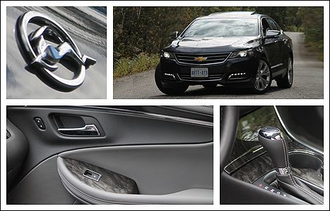 2014 Chevrolet Impala LTZ Review | Auto123.com - Intersecting character lines, a deep, confident grille and a graceful curve over the rear wheel arches drew the most attention from passersby. This might be the best looking sedan Chevrolet's built in ages. #chevrolet #impala #review