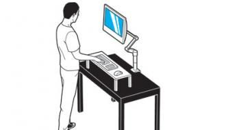 HOW TO  BUILD A STAND-UP DESK: Stands Up Desks, Better, Building A Desks, How To