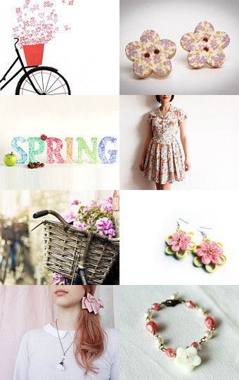 Can you smell the spring? by Francesca Vicario on Etsy--Pinned with TreasuryPin.com