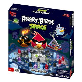 @Overstock.com - Angry Birds Space Race Game - Bring the adventure of the computer game to your tabletop with this fun Angry Birds Space board game. This exciting game includes all the pieces necessary for two to four players to battle it out in space and defeat the mischievous piggies.  http://www.overstock.com/Sports-Toys/Angry-Birds-Space-Race-Game/7869448/product.html?CID=214117 $16.99