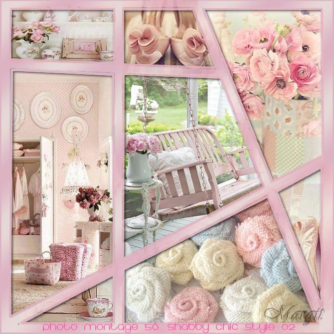 Photo montage 56. Shabby Chic style 02