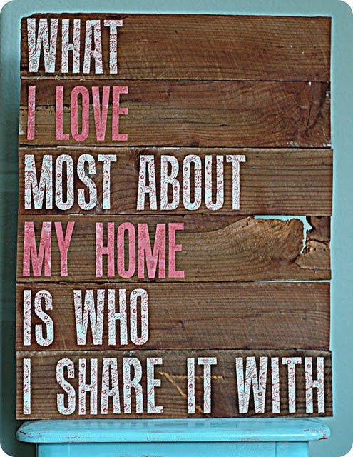 This Pin was discovered by Erin Spross. Discover (and save!) your own Pins on Pinterest. | See more about wood signs, families and sayings.