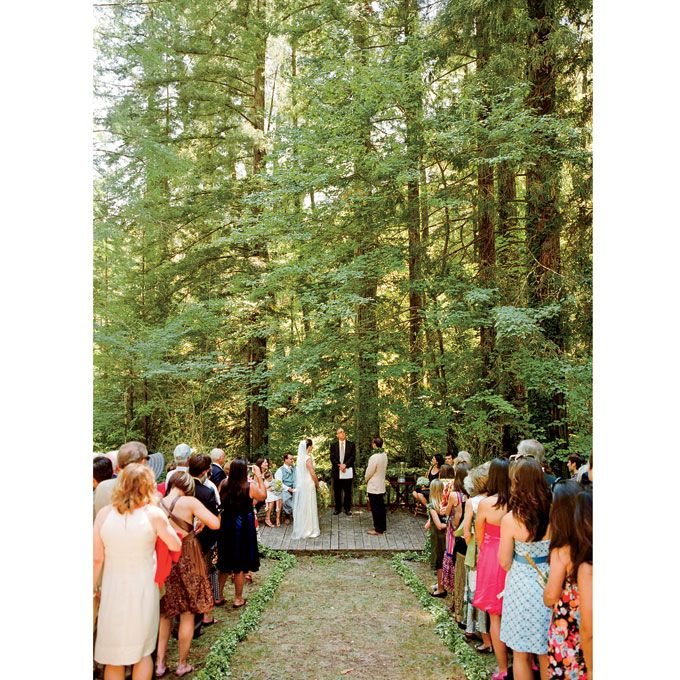 A Rustic, Vintage Wedding In Sonoma