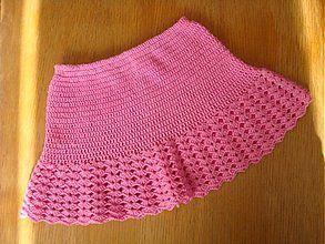 Detské oblečenie - Suknička pre dievčatá - 3745819_