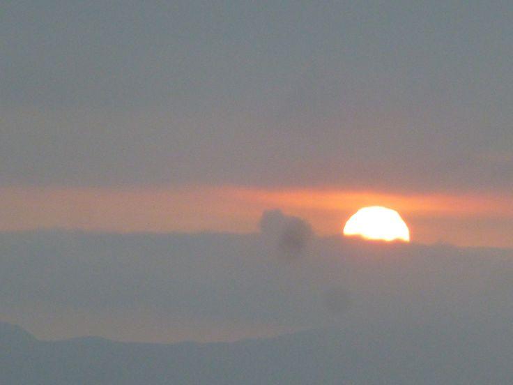 5 y 17 pm Adios sol!
