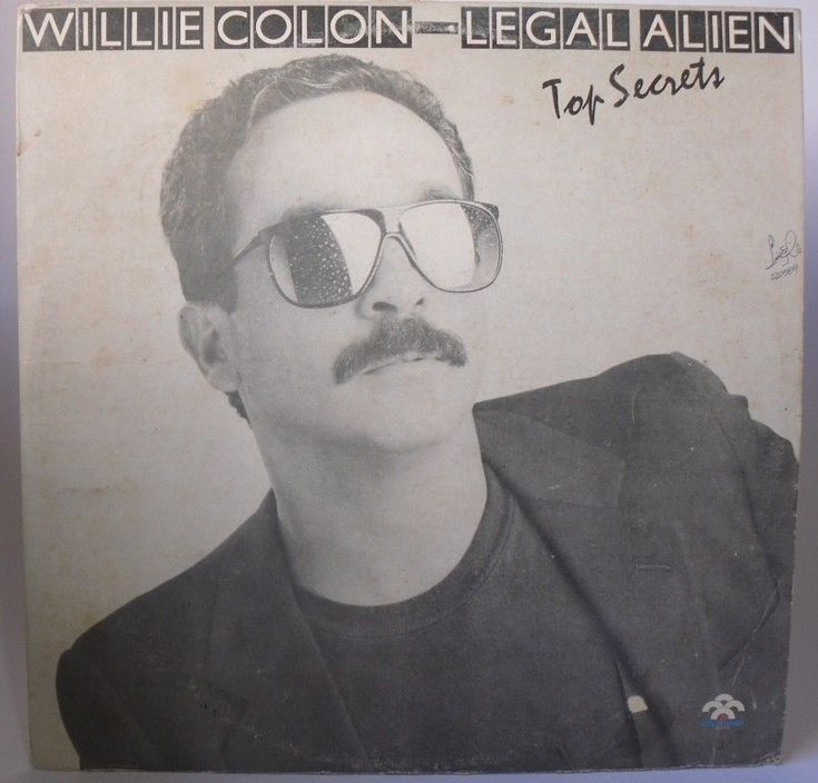 Willie Colon - Top Secrets - Lp Hecho en Venezuela  #Salsa