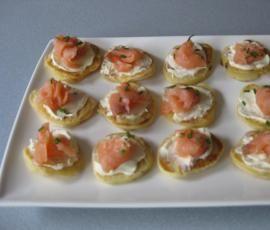 Recipe Smoked Salmon Blinis