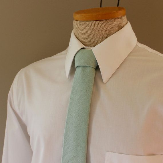 Dusty Shale Tie Necktie J.Crew J. Crew Inspired by HandmadeByEmy