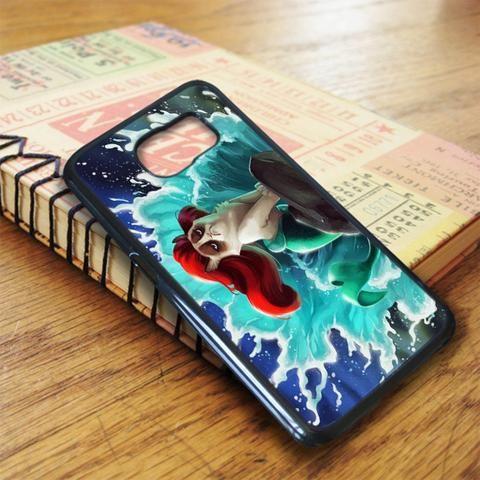 Disney Grumpy Cat Ariel Little Mermaid Cute Samsung Galaxy S7 Case