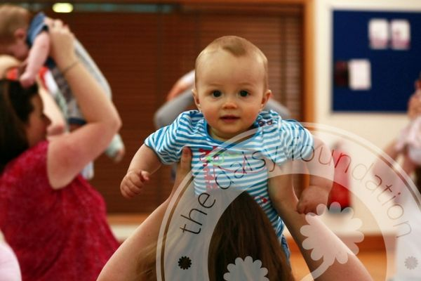 Baby yoga classes at the Sheffield Wellness Centre are a great way to bond with your baby and to meet other new mums.