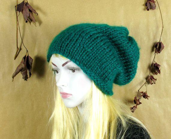 Green Beanie, Warm Unisex Green St Patricks Day Hat