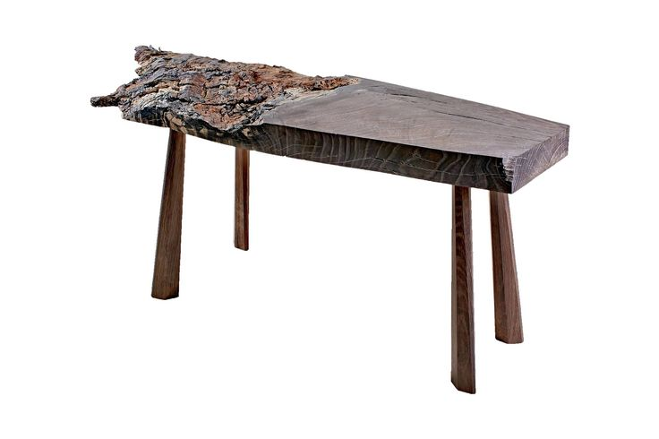 The furniture collection bog oak 800-6500 years old. T. Riverwood Consoles.