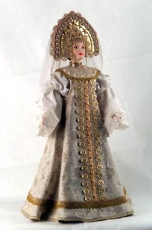 Doll in Russian traditional costume - Amazing! Русский национальный костюм - Город.томск.ру