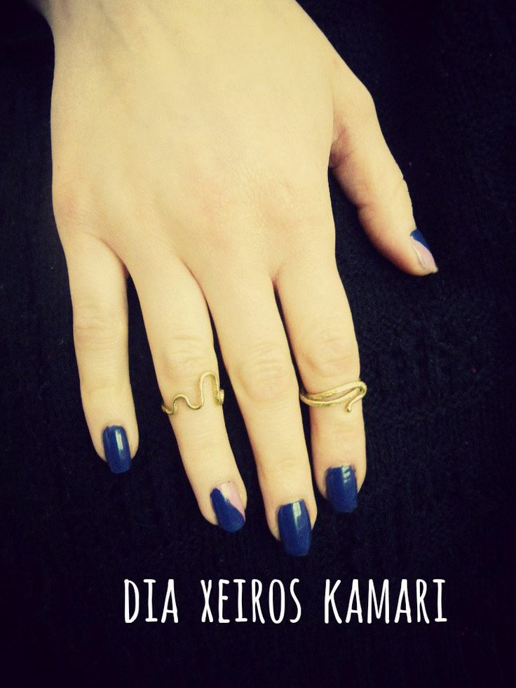 #knuckle_rings #gold #chic #simple #handmade #Greece #ring_party
