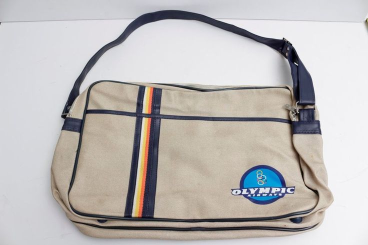 1980s Olympic Airways Dufflebag (Vintage with old logo/name) OA,OAL, 050