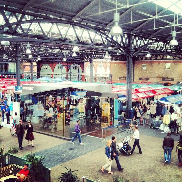 Old Spitalfields Market in Spitalfields, Greater London