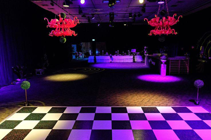 A dance floor ready for silly antics. Photo by Jon Jarvela