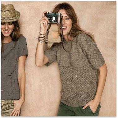 Modèle PHIL COTON 4 t-shirt femme