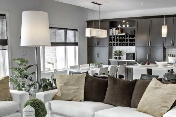 Better Living Room  Whether it's a condo, townhome or single family home, all Branthaven interiors are designed with multifunctional interiors and spacious layouts that are open concept, easy to furnish and maintain and most importantly, have no wasted space.