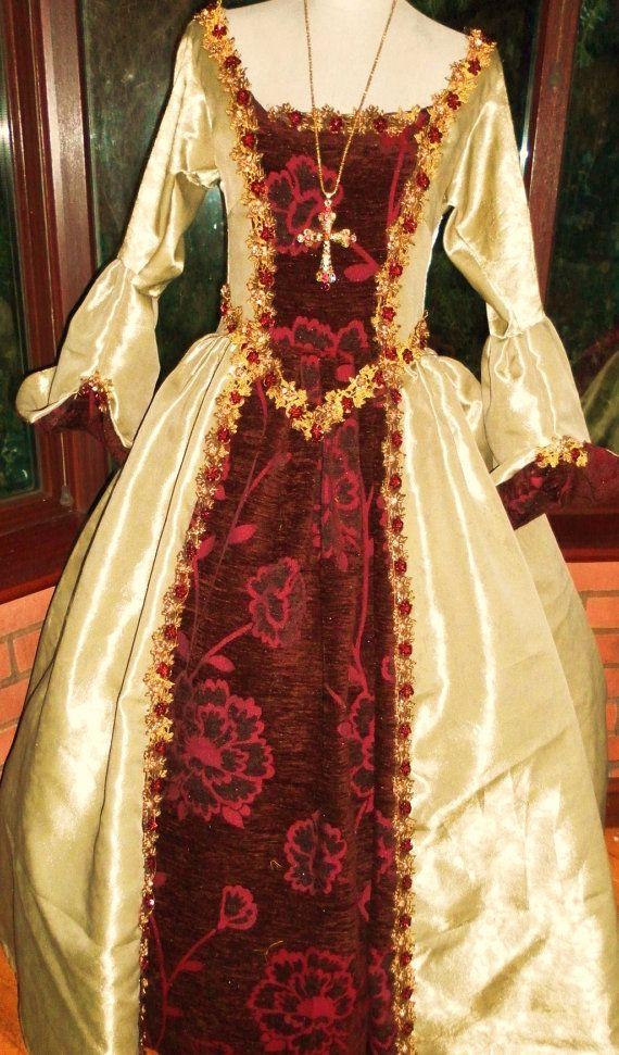 Custom made Tudor Anne bolyne medieval theatre by steampunkageboho, £275.00