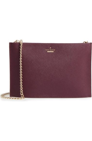 KATE SPADE Cameron Street Sima Clutch in purple https://www.houseoffraser.co.uk/bags-and-luggage/kate-spade-new-york-cameron-street-sima-clutch/d822837.pd#275916008