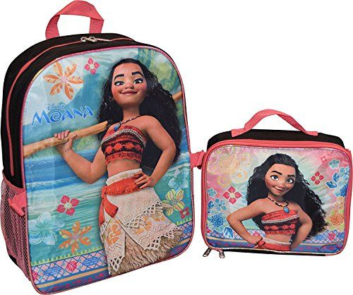 ee23b859d718 Like and Share if you want this Disney Moana Girls School Backpack Lunch  Box Book Bag