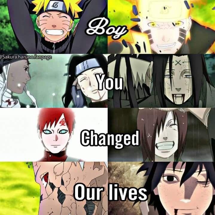 Anime Characters Born May 8 : Naruto changed the lives of so msny people haku zabuza