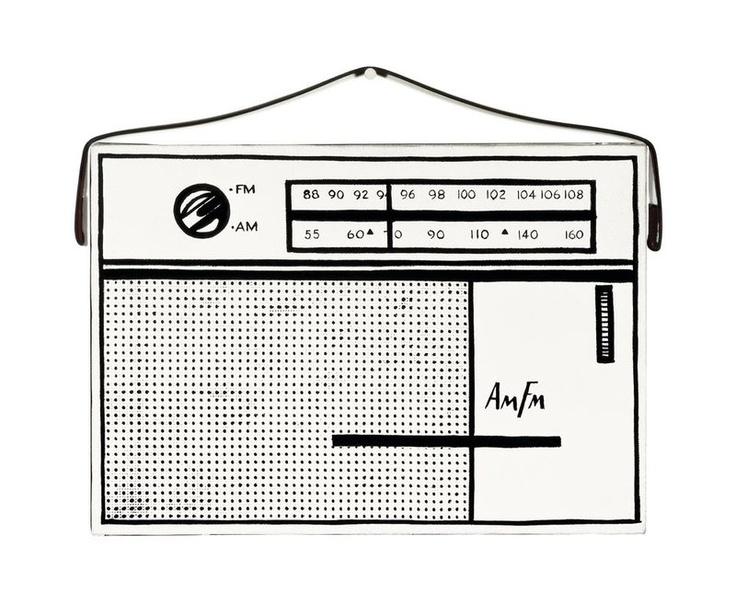 Portable Radio 1962 by Roy Lichtenstein - Tate Prints & Posters