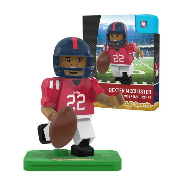 Dexter McCluster Ole Miss Rebels OYO Sports NCAA Player Figurine