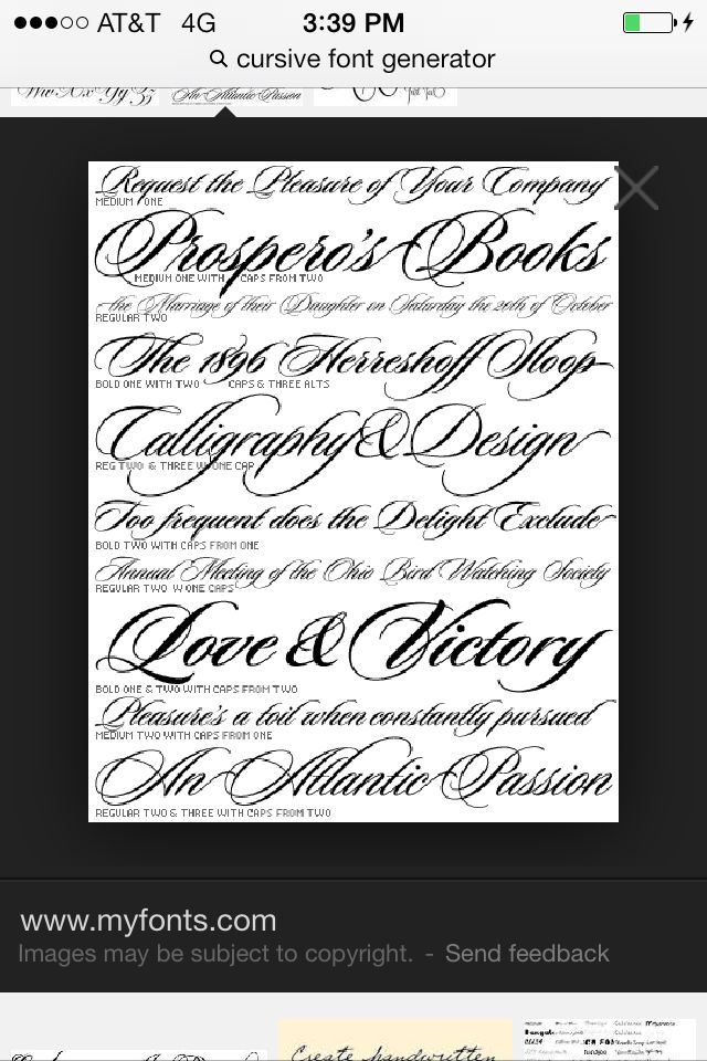 Bien-aimé Oltre 25 fantastiche idee su Tattoo fonts cursive su Pinterest  DQ56