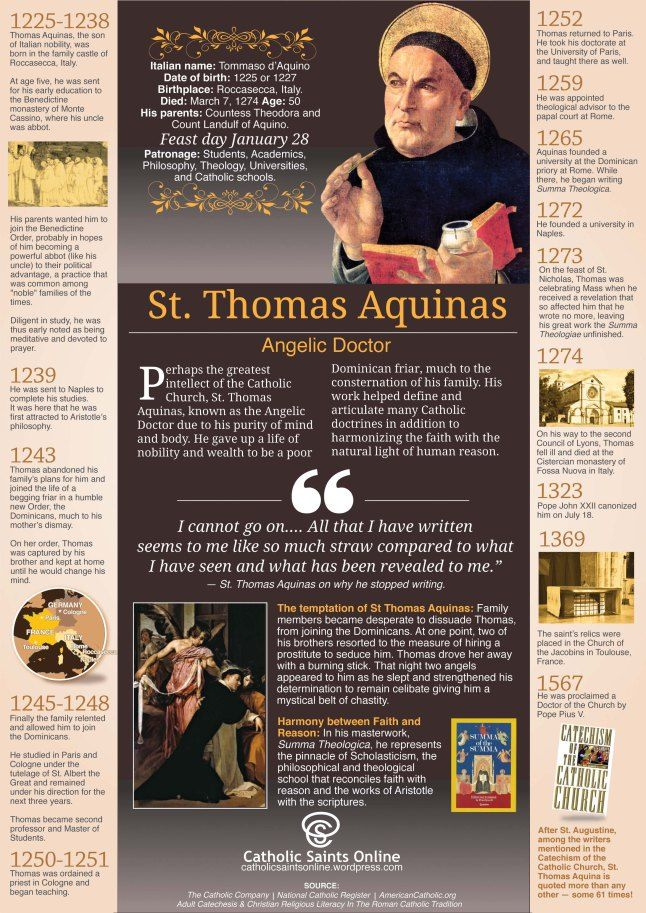 the proofs of gods existence according to st thomas aquinas St thomas aquinas (1225—1274) was a roman catholic saint and philosopher   a major role in one of aquinas's arguments for the existence of god)   according to aquinas, it is conceivable for the universe not to exist.