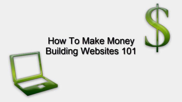 How to make money building websites