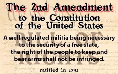 """second amendment to the constitution essay """"a well regulated militia, being necessary to the security of a free state, the right of the peopl."""