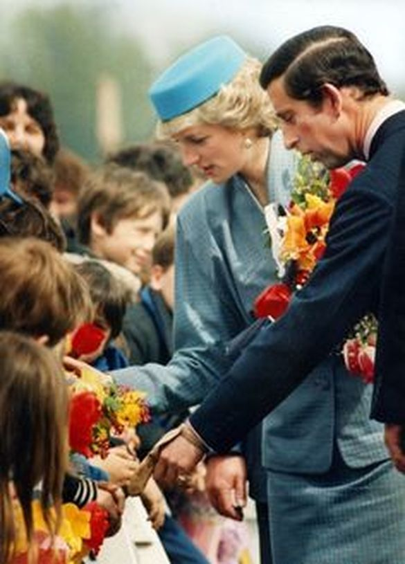 On May 1st in 1986 Prince Charles and Princess Diana visited the city of Nanaimo, on Vancouver Island, in British Columbia.