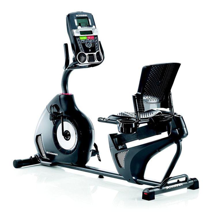 Recumbent Bike Schwinn Exercise Stationary Machine Equipment Cardio Workout #RecumbentBike