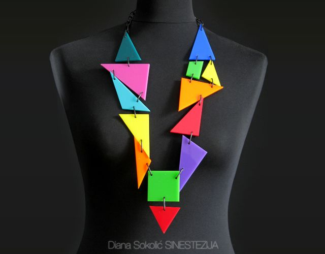 Croatian artist Diana Sokolic creates plexiglass jewels inspired by kinetics and the principles of color and geometry. Via TheMAG.it
