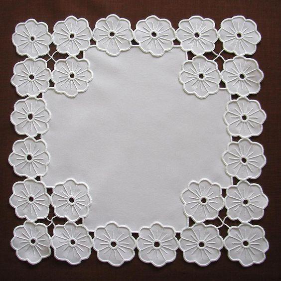 Resultado de imagen de Vintage cutwork embroidery 1970s richelieu embroidery by MyWealth, $4.30 - Google Search