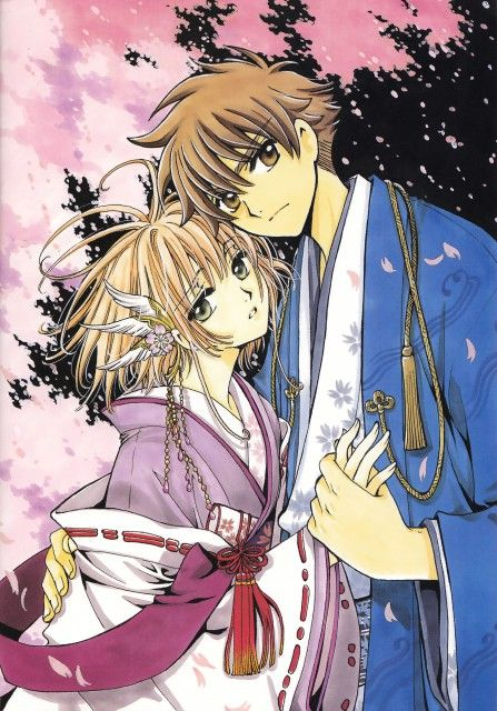 Syaoran and Sakura - Card Captors Sakura/ Tsubasa Chronicles