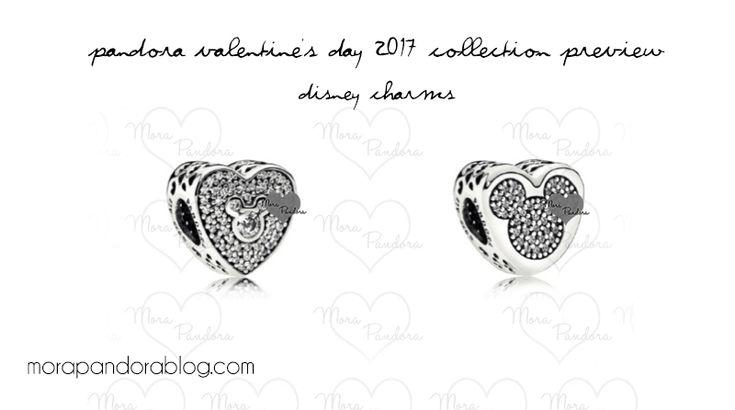 Pandora Disney Valentine's 2017 Charms