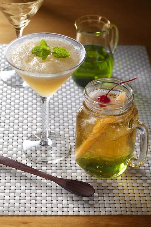 Cocktails. Photo courtesy of Mika Japanese Bistro via The Jakarta Post Travel.