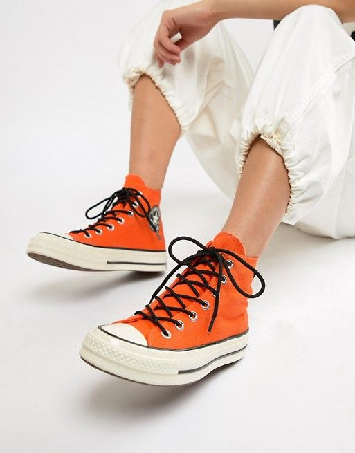 ab8867e122b6 Converse X Gore-tex Chuck 70 hi orange waterproof sneakers in 2019 ...
