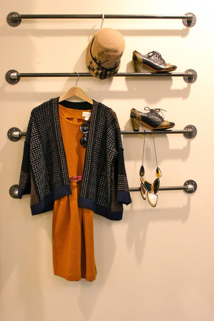 Get tomorrow's outfit ready tonight...hang it on the wall in your walk-in closet or bedroom wall --genius idea!