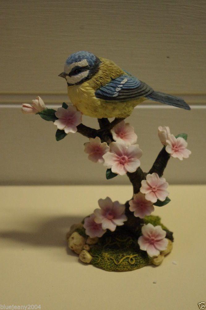 Blue Tit British Birds Ornament Small