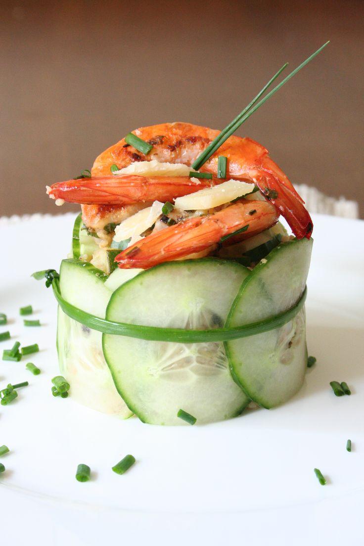 Krevetový kuskus se zeleninou