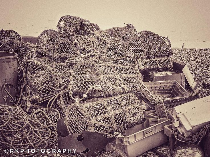 #RKPHOTOGRAPHY #photography #photo #amateurphotography #amateurphotographer #nikon #b500 #crates #crabbing #fishing #bnwphotography #blackandwhitephoto #deal #kent #beach #seafront #seaside #town #lovely #love #coast #coastline