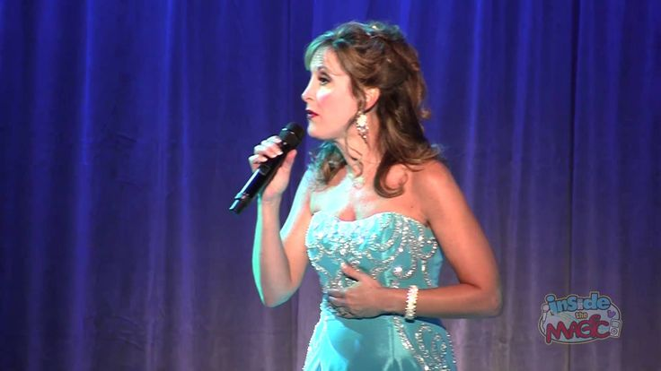 """Jodi Benson (voice of The Little Mermaid) performs """"Part of Your World"""" ..."""