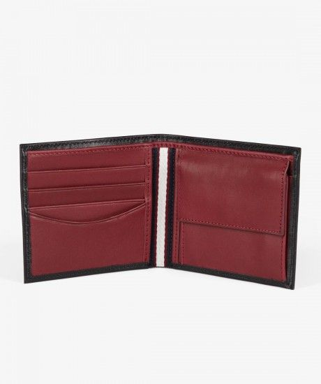 Fred Perry - Saffiano Billfold & Coin Wallet
