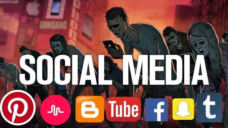 Social Media gör oss till levande Zombies
