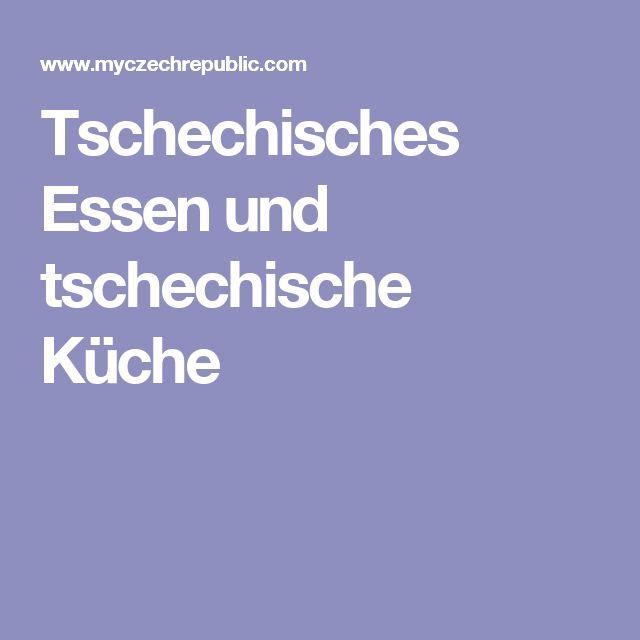Tschechisches Essen und tschechische Küche